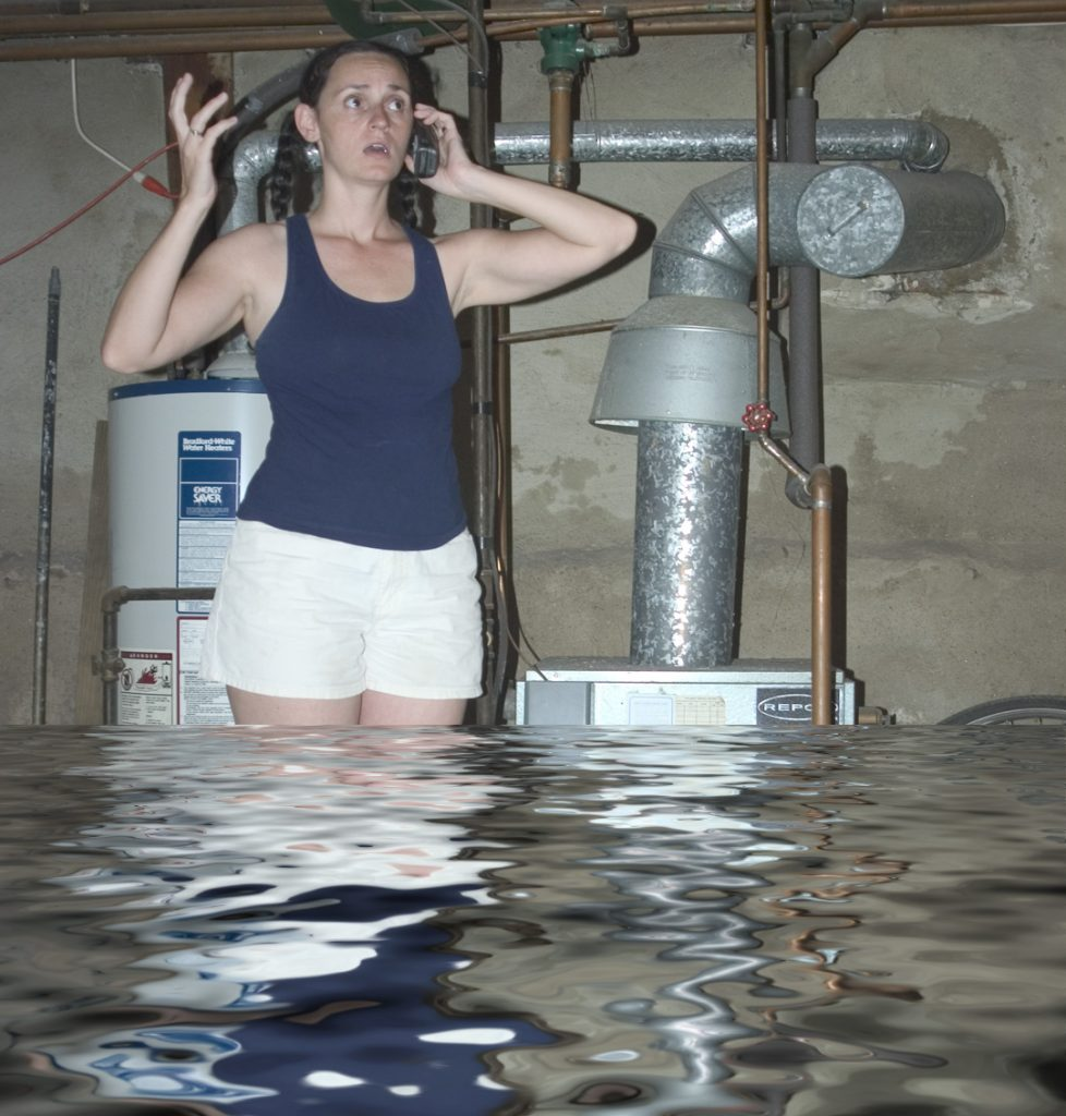 oh no the basement is flooded don t get electrocuted spradling